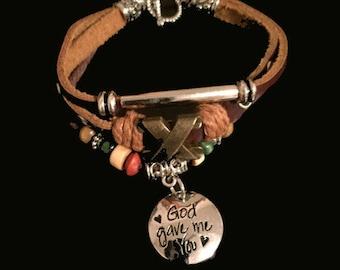God Gave Me You Bracelet