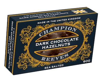 Luxury Dark Chocolate Hazelnuts