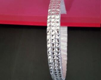 Silver Bling Headband