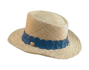 "Blue hat ""Don Pancho"""
