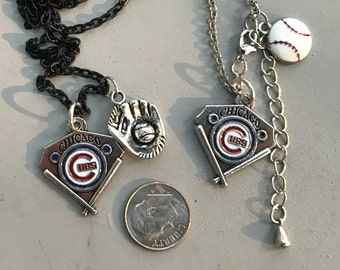 Chicago Cubs Pendant Necklace