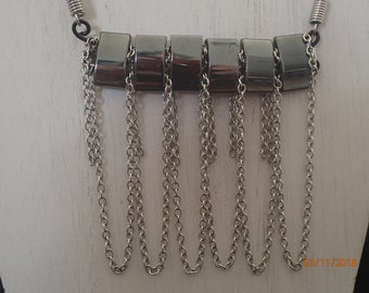 Hematite Chain Necklace
