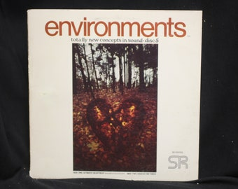 Environments Induced Meditation Disc (LP) 5 - Ultimate Heartbeat & Wind In the Trees - Syntonic Research
