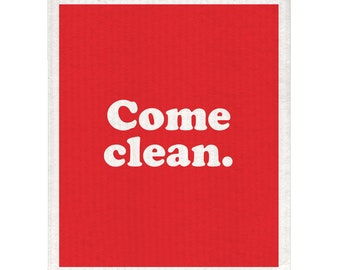 Come Clean Dishcloth