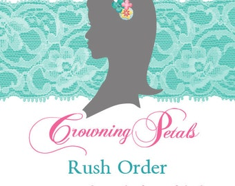 Rush Order: Move Your Order to the Front of the Line