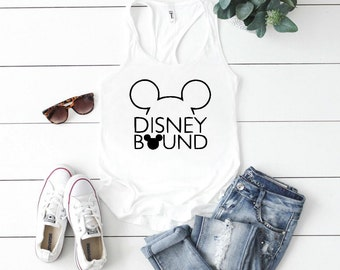 Disney bound tank top