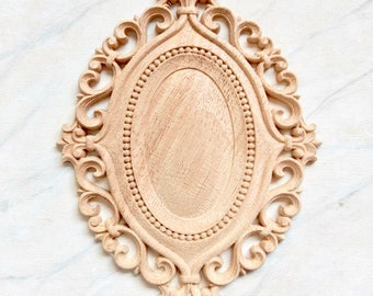 Furniture applique, wood applique, furniture onlay, wood onlay, furniture decoration, wood embellishment, wood carving