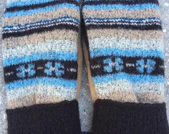Wool Blend Mittens (M)