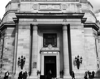 Freemasons Hall, Print, Photography, Freemason, Freemasonry, Cityscape, Black And White, City Print, City Photo, Holborn, London, England
