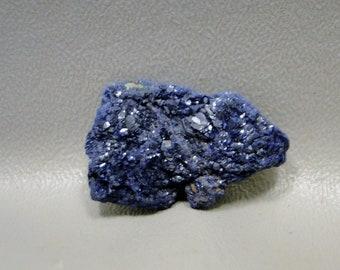 Azurite Nodule Sparkly Blue Mineral Specimen #E1
