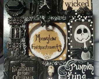 Nightmare Before Christmas Jack Picture Frame