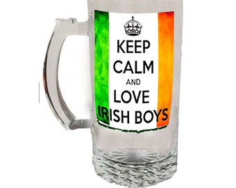 Glass Beer Mug 22336c