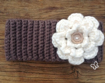Women's statement headband/women's snood/women's ski wear/ski accessories/winter fashion/handmade crochet ski headband/skiing gift idea