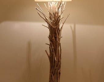one charred coast iron light tree lamp floors rustic manufacturing pin living floor pine