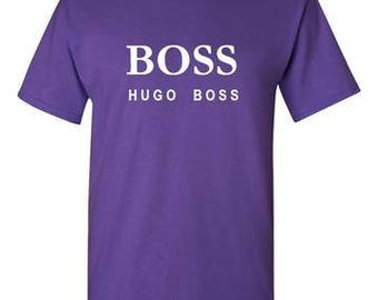 Hugo Boss Purple T-Shirt