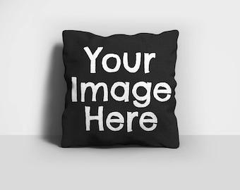 Custom Photo Pillow, Image Pillow, Custom Pillow, Throw Pillow, Dog Pillow, Home Decor, Decorative Pillow, Pillow Case, Pillow Cover