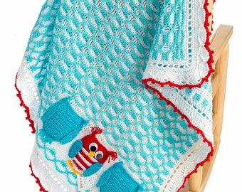 CROCHET PATTERN One of a Kind Baby Boys Girls Blanket Ebook Crochet Pattern in PDF format