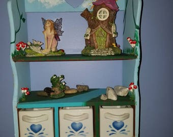 Land of the Fae Wall Shelves