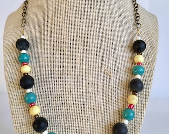 Coral Handmade beaded Necklace