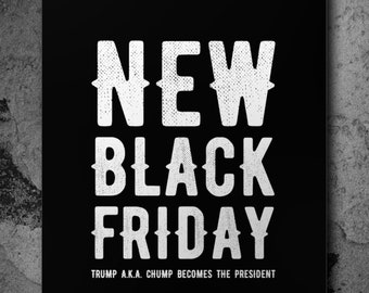 New black Friday Poster