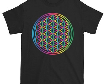 Flower of Life Spectrum T-Shirt