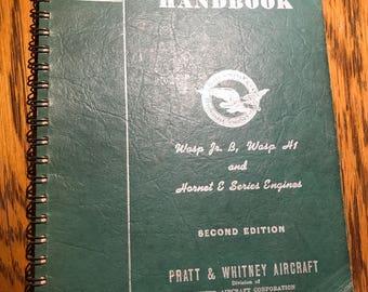 Operator's Handbook - Pratt & Whitney Aircraft Engines - 1941