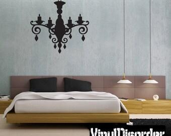 Chandelier Vinyl Wall Decal Or Car Sticker - Mv003ET