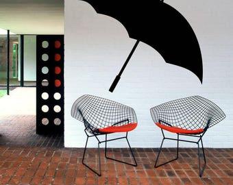 Wall Decal Sticker Bedroom umbrella boy girl teenager teen kids room  044d