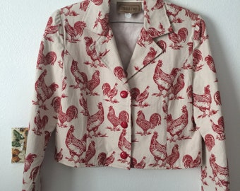 Painted Pony Rooster Jacket