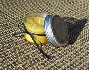 Citronella & Lemongrass Beeswax Candle