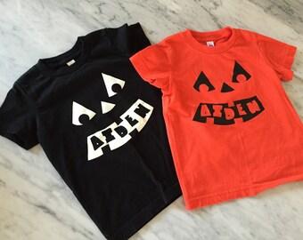halloween shirt, kids halloween clothing