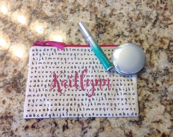 Customized/Personalized Teacher Cosmetic Bag
