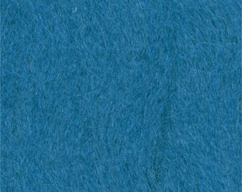 wool felting teal 7924