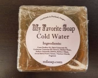 Cold Water Soap