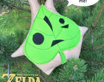 The Legend of Zelda inspired Korok plush Breath of the wild Makar Christmas Gift