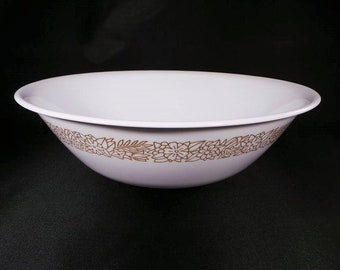 Vintage Corelle Woodland Brown Berry Bowl by Corning