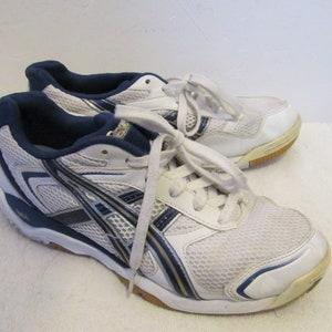 Men's Vintage 90's,SPORTY White Sneakers By ASICS.6.5/8 Wom/39.5
