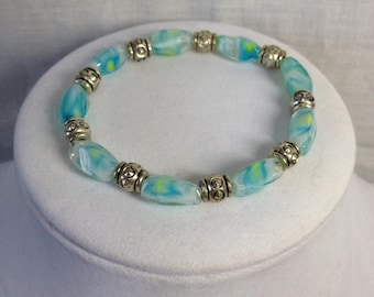 PRICE REDUCED!!! Bracelet - Turquoise and Yellow
