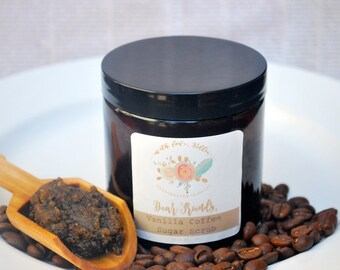 COFFEE SCRUB | Sugar Scrub | Mother's Day Gift | Gift for Her | Coffee Lover Gift | Anti-Cellulite | Exfoliating Scrub | Sugar Scrub