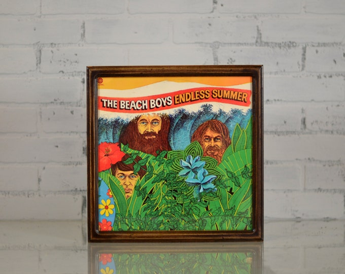 12.5x12.5 Record/LP Frame in Double Cove Style and Color of YOUR CHOICE - Album Cover Frame - Large Square Wood Frame - Album Art
