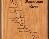 WAITAHANUI RIVER Map Fly ...