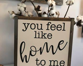 Sie fühlen sich wie zu Hause
