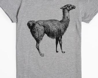 Llama Shirt Llama Gifts Women's Llama Tshirt Graphic Tee Funny Shirt Animal Tshirt Alpaca Shirt