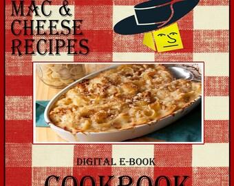 103 Macaroni & Cheese Recipes E-Book Cookbook Digital Download