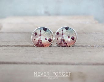 "Earrings ""Lovely Paris"" - 16 mm / pair"