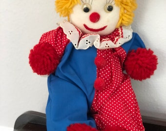 Handmade Clown Doll! Collectible Item