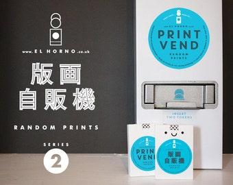 Random PRINT VEND – Series 2 – Mini Prints 90x65mm