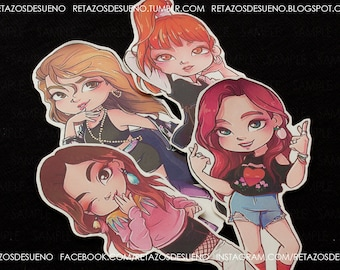 BLACKPINK kpop STICKER SET |As if it's your last| Lisa, Jennie, Jisoo, Rosé | Stickers