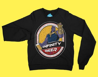 INFINITY BEER || Sweatshirt designed by us, with love.