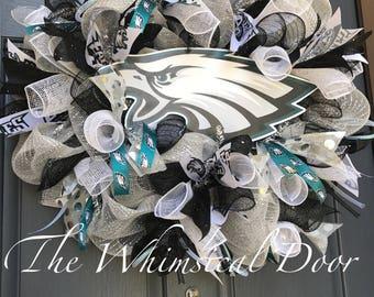 Philadelphia Eagles Wreath Eagles NFL Wreath Football Wreath